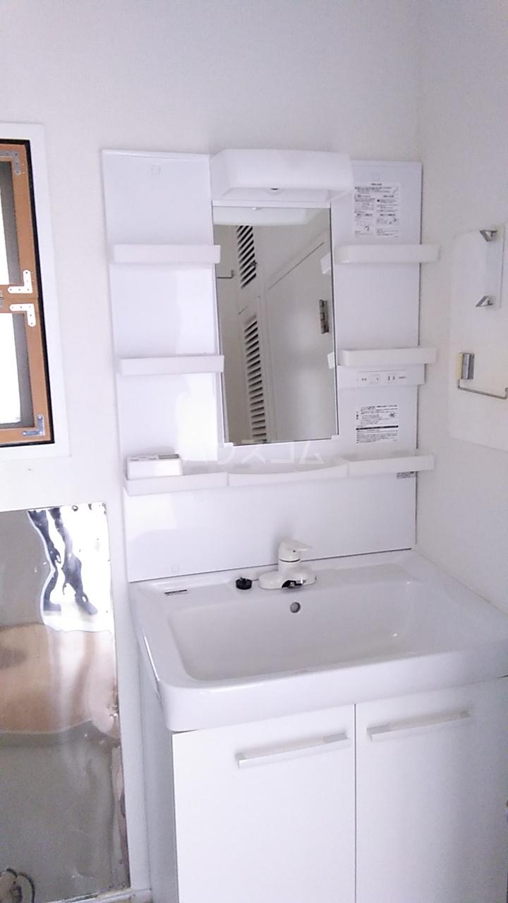 亀谷マンション 102号室の洗面所
