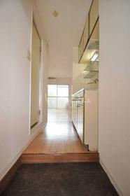 フォンテーヌ弥生 202号室の玄関