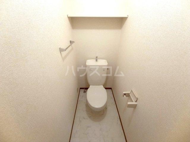 プロスパーコート梅島 101号室のトイレ