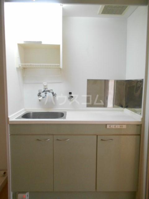 プラモンターニュ 205号室のキッチン