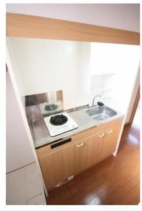 Felice 201号室のキッチン