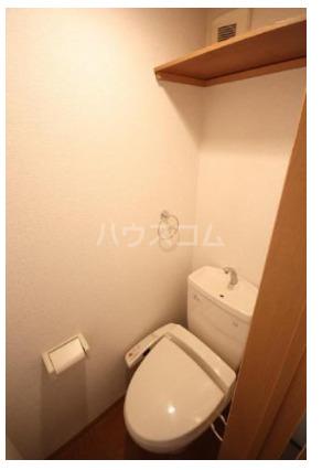 Felice 201号室のトイレ