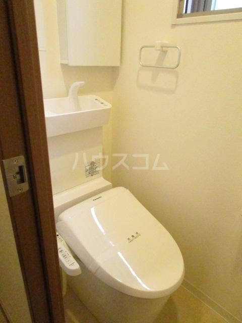 マルサカビル 202号室のトイレ