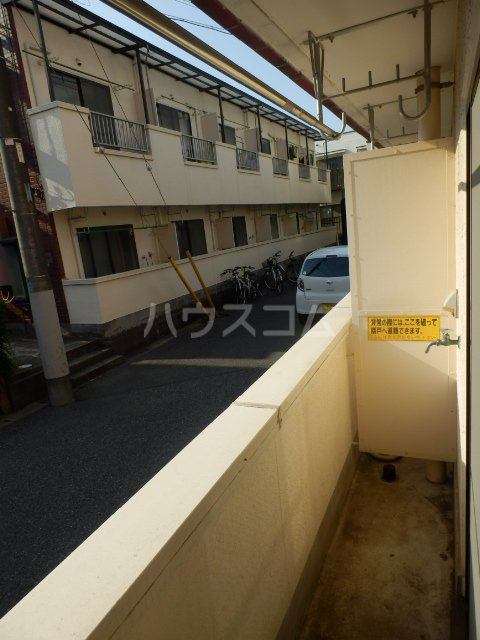 シャンテ津田沼A 106号室のバルコニー