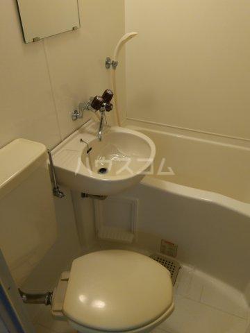 西羽田ヴィレッジ 202号室のトイレ