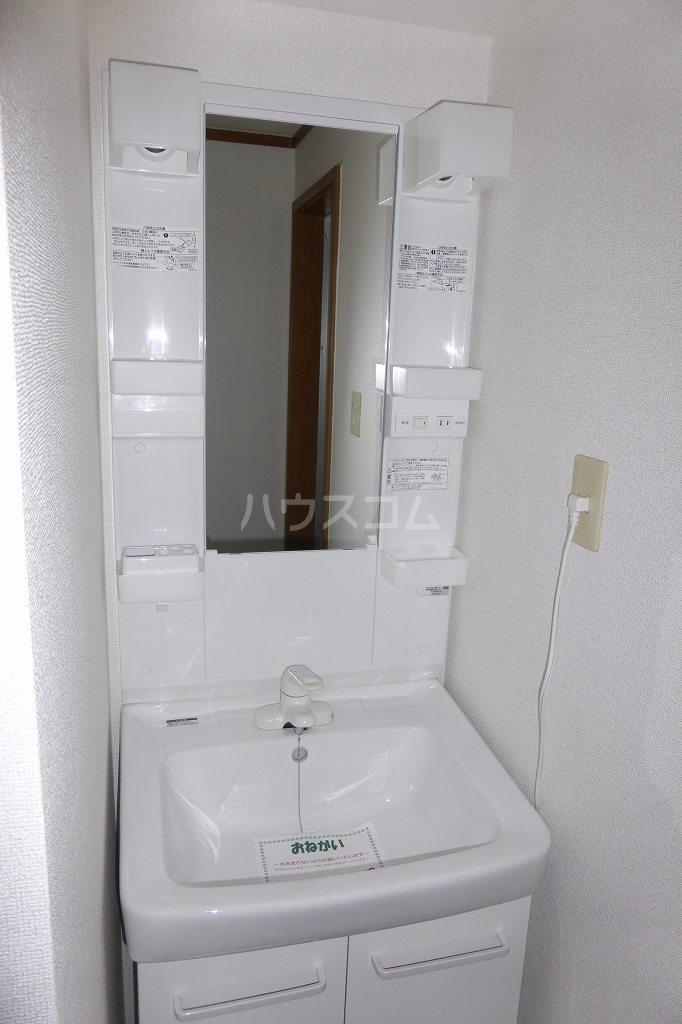 北斗ハイツⅠ 02040号室の洗面所