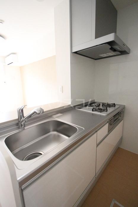 D-room飯倉 102号室のキッチン