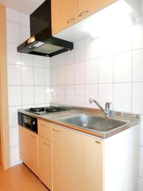 グランチェスタ草加 303号室のキッチン