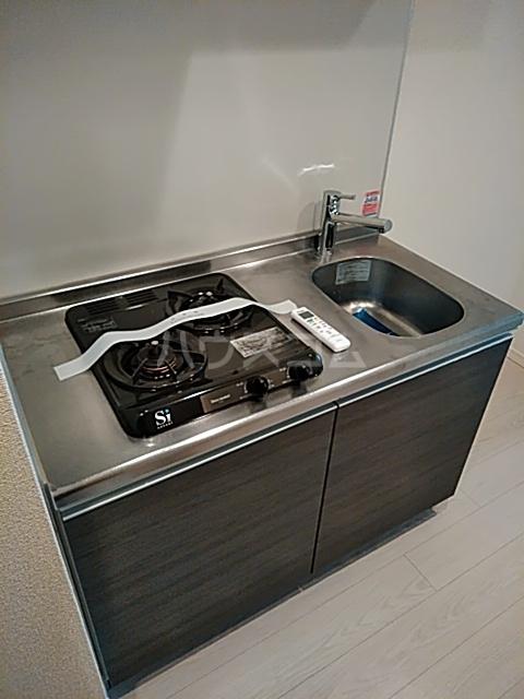 Primal Gotanda 703号室のキッチン