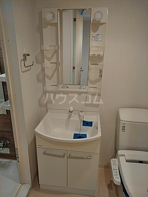Primal Gotanda 703号室の洗面所