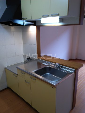 ブロードタウン神野Ⅱ C 201号室のキッチン