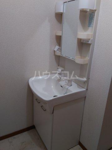 ブロードタウン神野Ⅱ C 201号室の洗面所