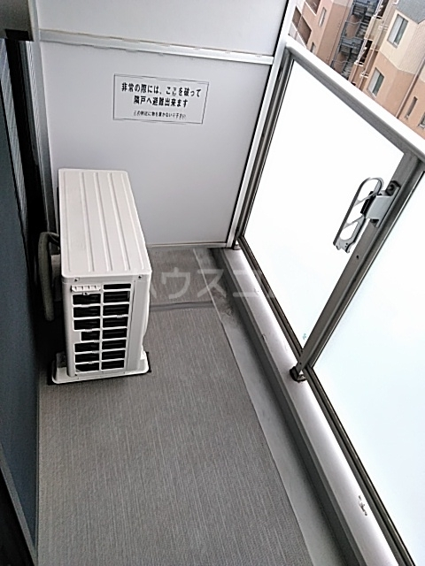 Primal Gotanda 704号室のバルコニー