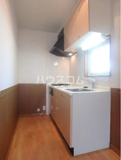 ブランカハウス 102号室のキッチン