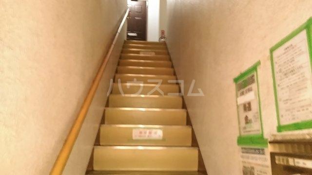 長尾ビル 302号室のエントランス