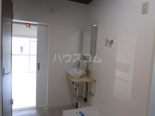 グリーンハイツ安松 103号室の洗面所