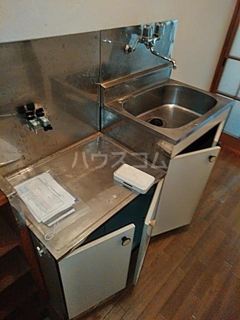 ハイツマルヤB 105号室のキッチン