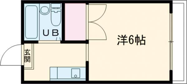 ジュネス昭島・205号室の間取り