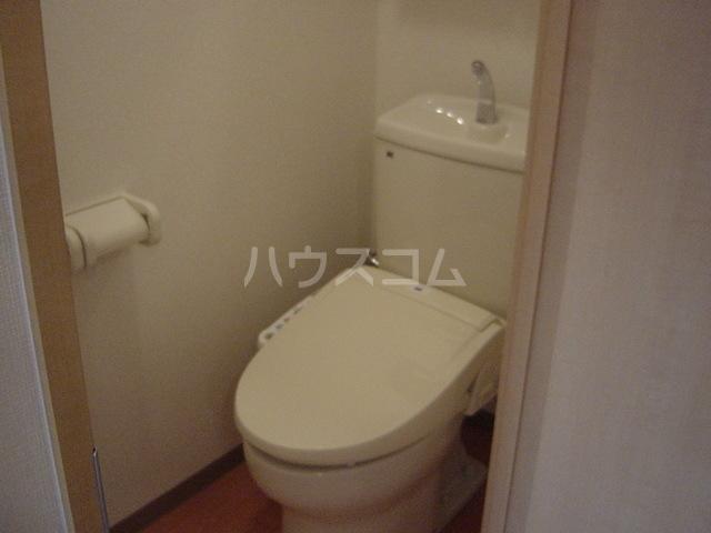 スターパレス谷上 202号室のトイレ