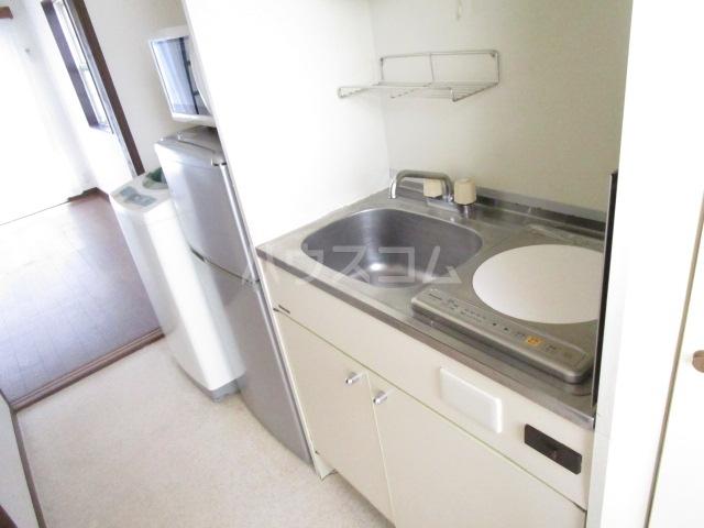 第12クリスタルハイツ 201号室のキッチン