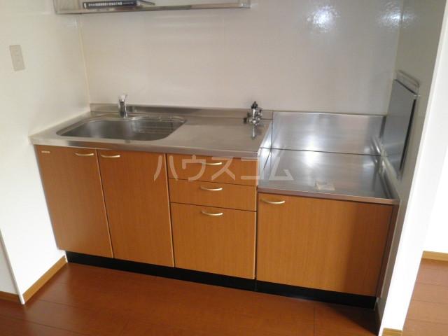 GRACE岸和田 102号室のキッチン