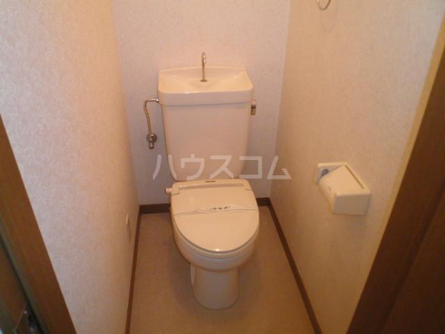 テラスコート 203号室のトイレ