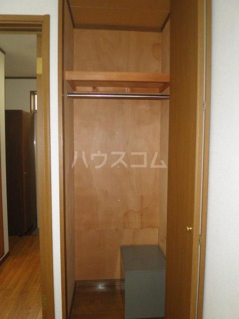 テラスコート 203号室の収納