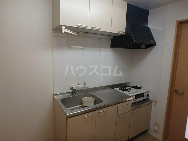 ロータスハイツ 102号室のキッチン