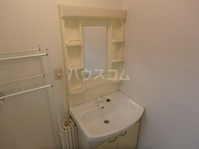 ロータスハイツ 102号室の洗面所