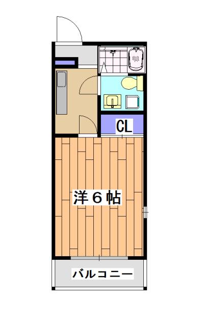 サイト京都西院 2A号室の間取り