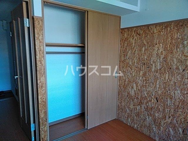 サイト京都西院 2A号室の収納