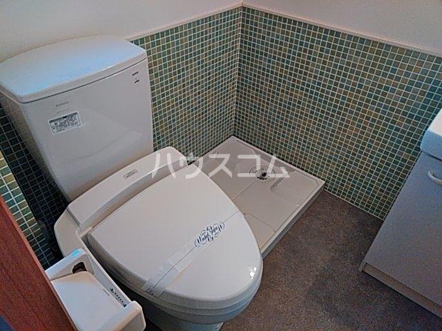サイト京都西院 2A号室のトイレ