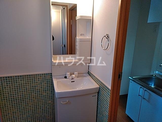 サイト京都西院 2A号室の洗面所
