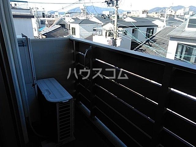 サイト京都西院 2A号室のバルコニー