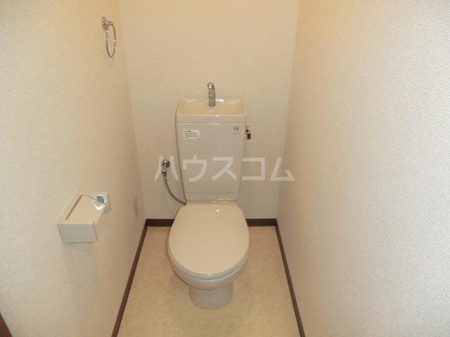 イリゼ 301号室のトイレ