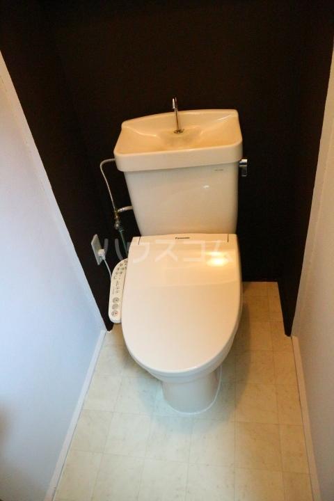 芝富士戸建のトイレ