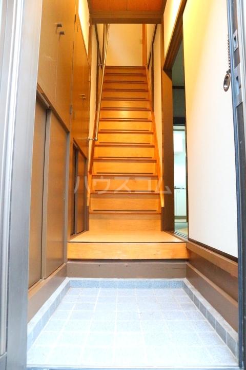 芝富士戸建の玄関