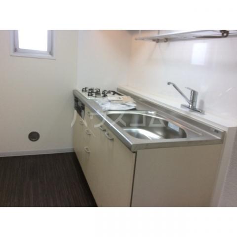 エスシャトルB 107号室のキッチン