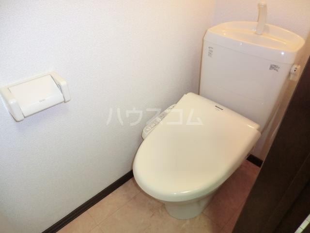 アーバンフラット 201号室のトイレ