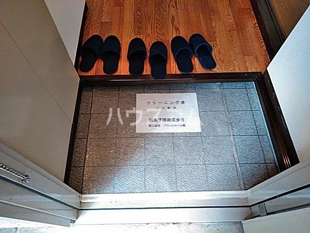 アネックスめじろ台B 202号室の玄関