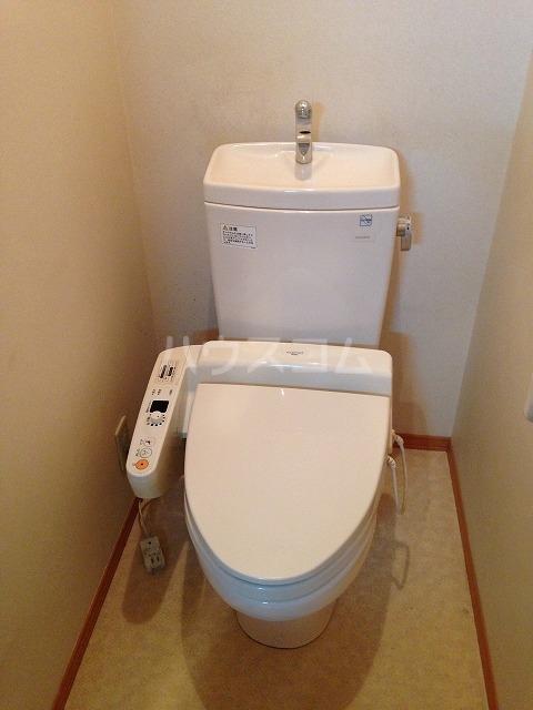 グレイス昭和 107号室のトイレ