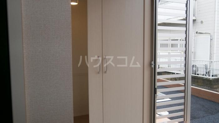 ラヴィラントさしまB 103号室の玄関