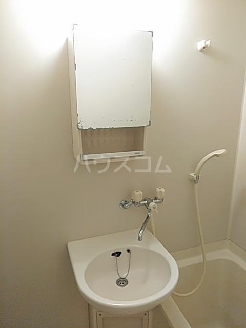 サンベルガーデン 206号室の洗面所