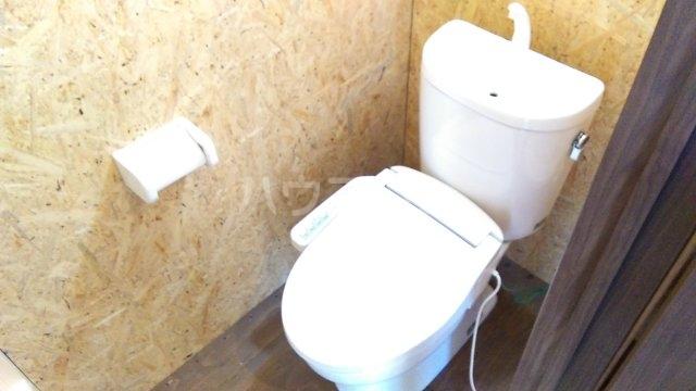稲越町貸家のトイレ