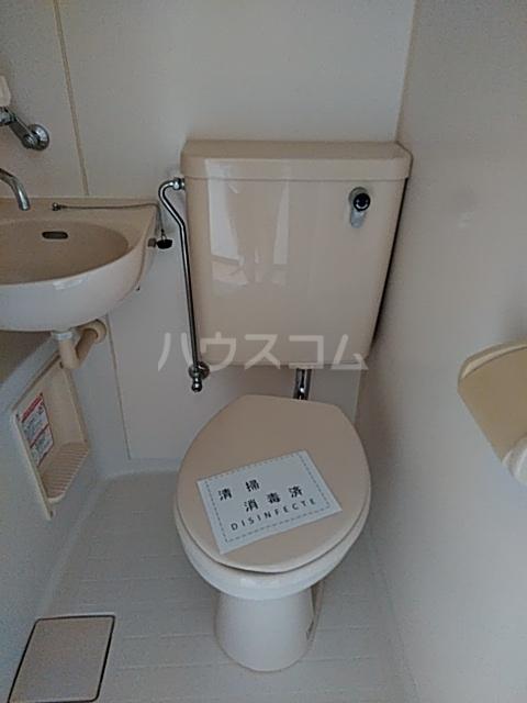 フェリース林間 106号室のトイレ
