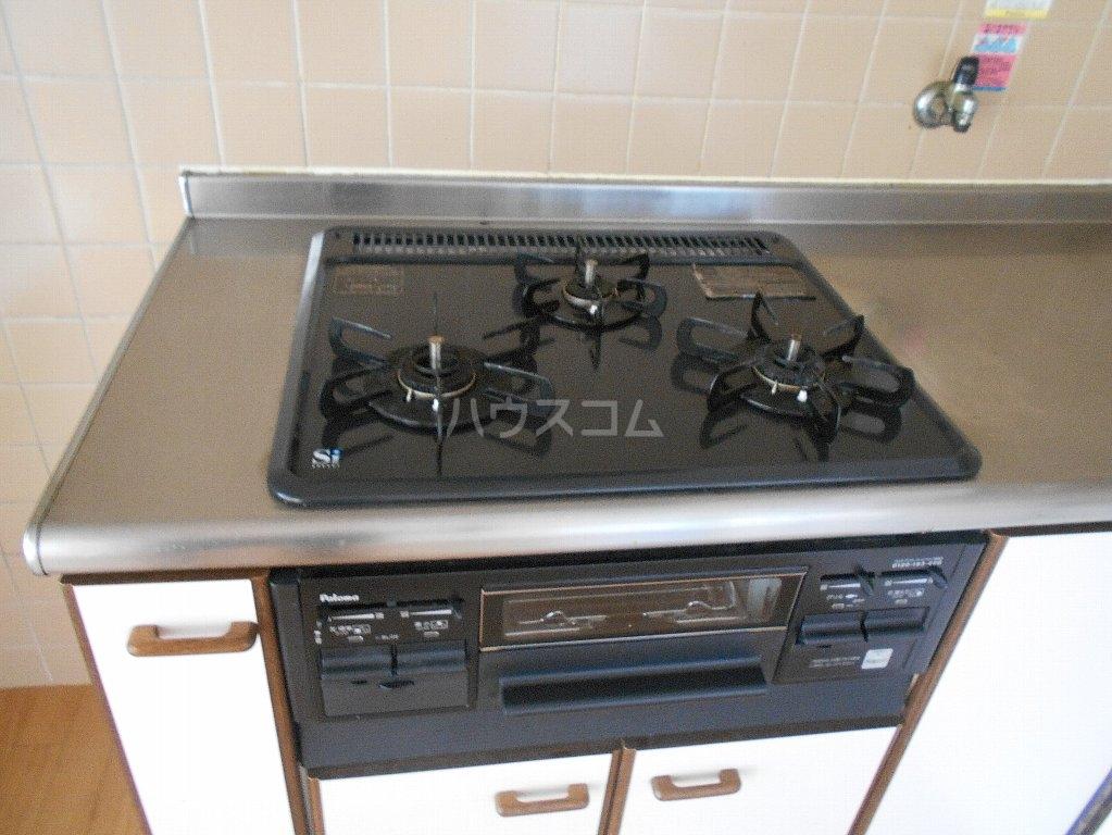 ヒルトップ菊名 303号室のキッチン