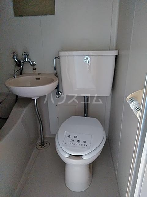 フェリース林間 206号室のトイレ