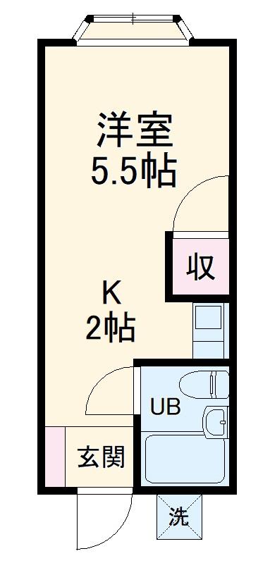 エスプレシーボ白楽Ⅱ・214号室の間取り