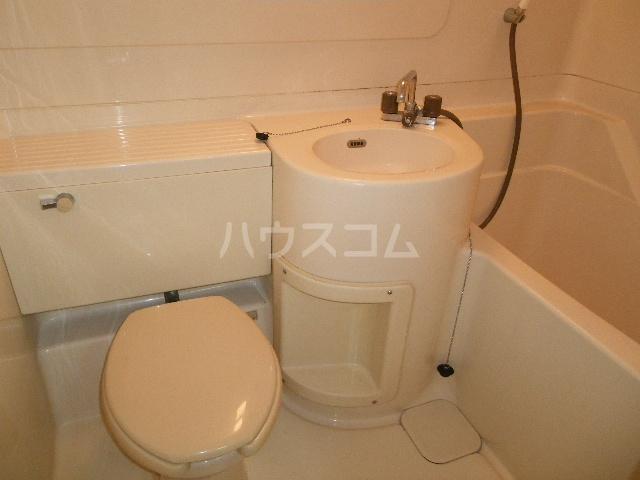 メゾン中居A 204号室のトイレ
