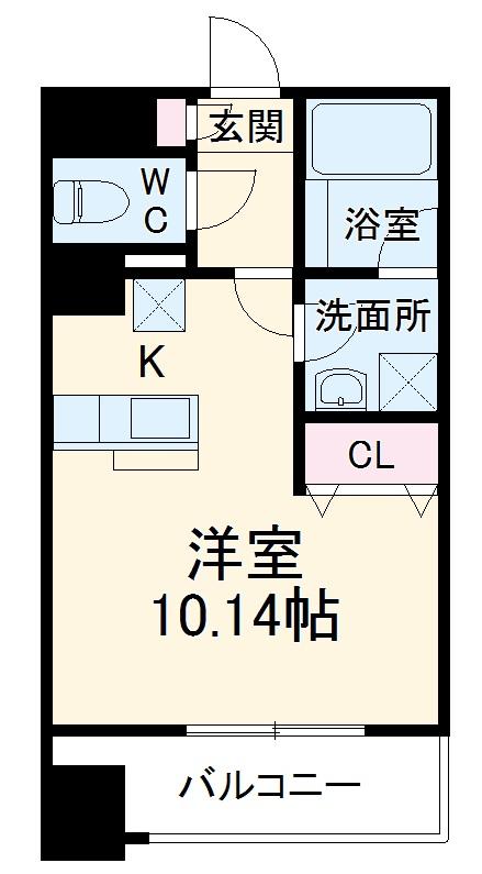 STATION TOWER TOYOSHIMA・506号室の間取り